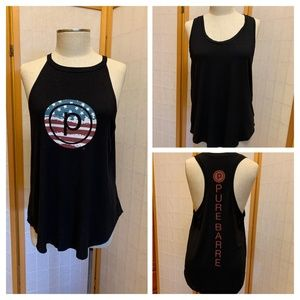 TWO Pure Barre workout tops